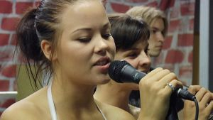 Taidekoulu Estradin musiikkioppilaita.