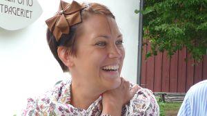 Kuvassa sopraano Mari Palo.