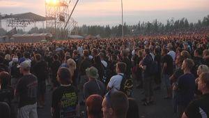 Sonispheren sunnuntain konserttipäivää oli seuraamassa 40 000 hevifania.