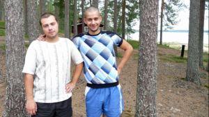 Sviat Maksimov ja Sergii Pylypenko