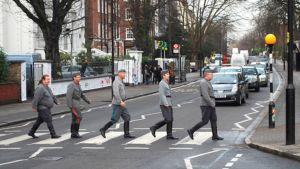 Ruokolahtelainen Korsuorkesteri Abbey Roadilla tammikuussa 2009