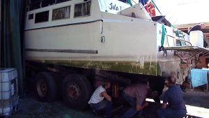 M/S Idan vaurioita tutkitaan