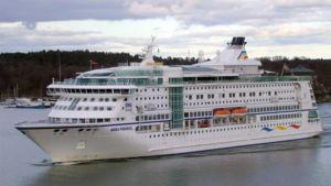 Birka Paradise saapumassa Tukholmaan