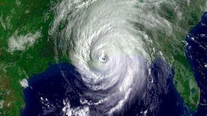 Hurrikaani Katrina satelliittikuvassa