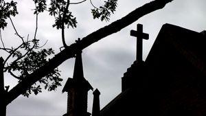 Risti kirkon katolla