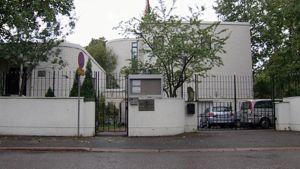 Iranin suurlähetystö Helsingissä