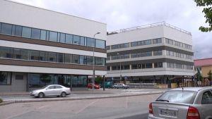 Verotalon ja tulevan maaseutuviraston rakennukset Seinäjoen keskustassa.