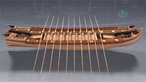 3D-mallinnus tykkisluupista.