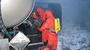 Vuonna 2007 Enocellillä harjoiteltiin eri viranomaisten yhteistyötä  rikkidioksidivuoto-onnettomuudessa.