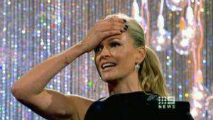 Australian Huippumalli haussa -ohjelman juontaja Sarah Murdoch