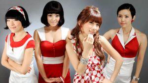 Eteläkorealainen tyttöbändi Brown Eyed Girls