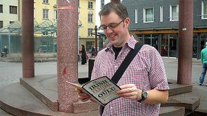 Oliver Hussey uskoo että suomalaisilla ja irlantilaisilla on paljon yhteistä.