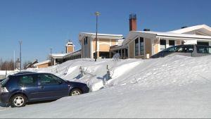 Kiihtelysvaaran terveyskeskus maaliskuussa 2010.
