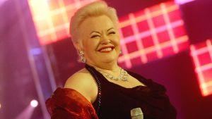 Laulaja Anneli Saaristo.