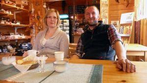 Annukka ja Antti - yrittäjäpari