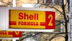 Shellin huoltoasema helsingin Meilahdessa.
