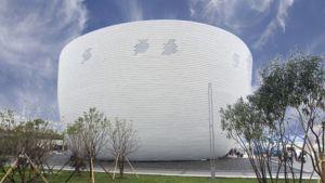 Suomen maailmannäyttelypaviljonki Kirnu Shanghaissa.