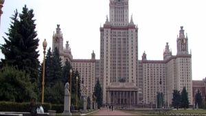 Moskovan valtionyliopisto.