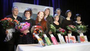 Vuoden 2010 Finlandia Junior -palkintoehdokkaiden julkistamistilaisuus Helsingissä.