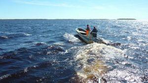 Kalastajavene Perämerellä