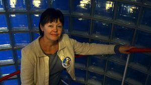 Marjut Komulainen on Oulun kansainvälisen lasten- ja nuortenelokuvien festivaalin kunniavieras.