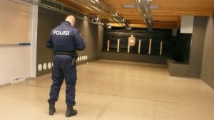 poliisi poliisikoulutus ampumarata Lapin poliisilaitos