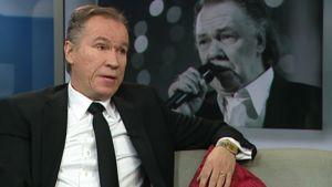 Tuottaja Ilkka Vainio Aamu-tv:n studiossa 8.12.2010.
