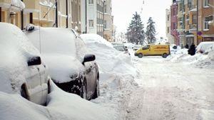 Luminen katu Helsingissä.