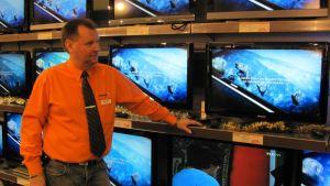 Tv-myyjä Jarmo Jokinen