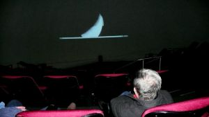 Kallioplanetaario näytti livekuvaa kuunpimennyksestä Meksikossa