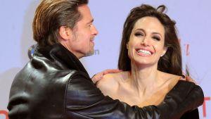 Brad Pitt ja Angelina Jolie.