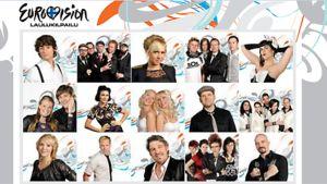 Suomen edustuspaikkaa vuoden 2010 Eurovision laulukilpailuun tavoittelevat artistit