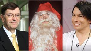 Paavo Väyrynen, Joulupukki ja Antti Tuisku