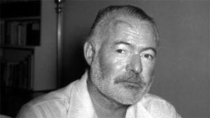 Ernest Hemingway Havannassa 1954