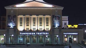 Tampereen Teatteri ulkoa