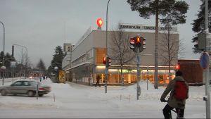 Rantakylän ostoskeskus Joensuussa