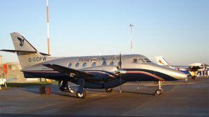 Fly Lappeenrannan uusi jetstream reittikone.