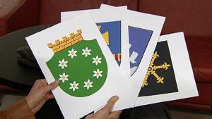 Raasepori, Kauhava, Siikalatva ja Kouvola saivat uudet vaakunat kuntaliitosten myötä.