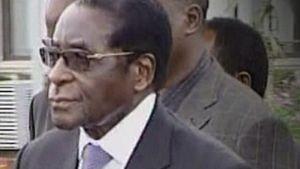 Zimbabwen presidentti Robert Mugabe