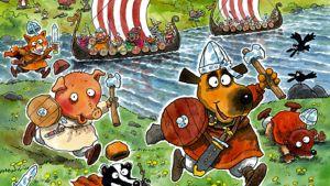 Vikings are Coming! -kirjan kansi