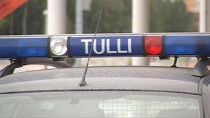 Tullin ajoneuvo. Kuva:Antti Heikinmatti |YLE|