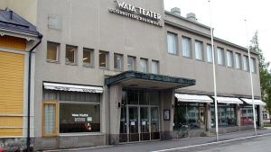 Kuvassa Wasa teater.