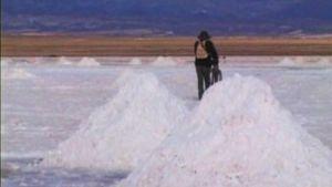 Bolivia suolatasankoja joiden alla on arvokkaat lithium-esiintymät.