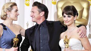 Kate Winslet, Sean Penn ja Penelope Cruz