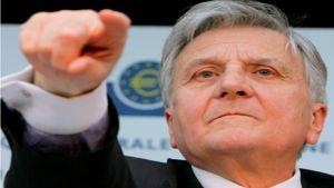 Euroopan keskuspankin pääjohtaja Jean-Claude Trichet.