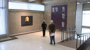 Alex Katzin näyttely Sara Hildénin taidemuseossa.