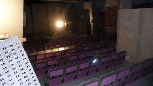 Kuopion Kuvapalatsi-elokuvateatteri rakennustöiden aikana.