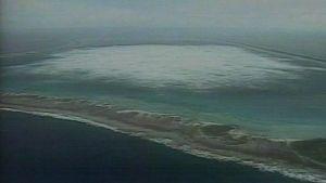 Ydinräjähdys atollilla