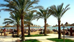 Uimaranta Hurghadassa.