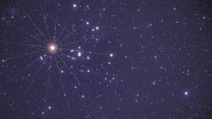 Tähtiä taivaalla.